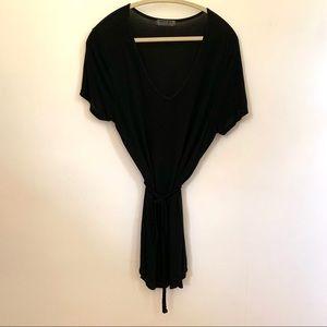 Black Michael Stars T-shirt dress